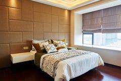 Dormitorio de lujo moderno Imagen de archivo