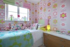 Dormitorio de moda de Childs Imagen de archivo libre de regalías