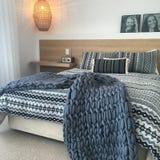 Dormitorio de relajación Imagen de archivo