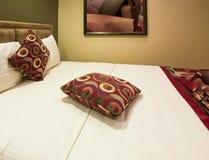 Dormitorio del centro turístico de vacaciones Fotografía de archivo libre de regalías