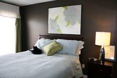 Dormitorio del decorador Fotos de archivo