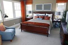 Dormitorio del diseñador fotos de archivo