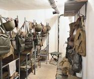 Dormitorio del guardia fotos de archivo libres de regalías