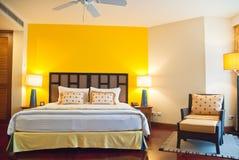 Dormitorio del hotel Foto de archivo libre de regalías