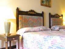 Dormitorio del hotel Fotografía de archivo libre de regalías