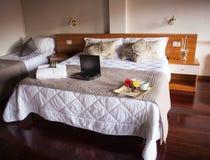 Dormitorio del hotel de Ares Fotografía de archivo