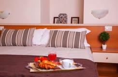 Dormitorio del hotel de Ares Fotografía de archivo libre de regalías
