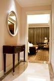 Dormitorio del hotel de lujo Fotos de archivo libres de regalías