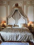 Dormitorio del palacio fotos de archivo
