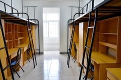 Dormitorio dell'allievo Immagini Stock Libere da Diritti
