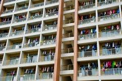 Dormitorio dell'istituto universitario della CINA Immagine Stock Libera da Diritti