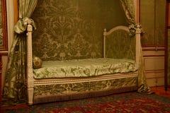 Dormitorio en palacio Foto de archivo libre de regalías