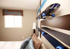 Dormitorio fresco de los muchachos Foto de archivo libre de regalías