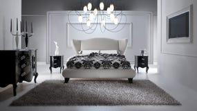 Dormitorio lujoso Fotografía de archivo libre de regalías
