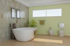 Dormitorio moderno de interior Fotos de archivo