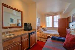 Dormitorio moderno lujoso Foto de archivo