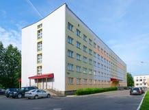 Dormitorio número 5 de la universidad médica del estado de Vitebsk, Bielorrusia Fotos de archivo