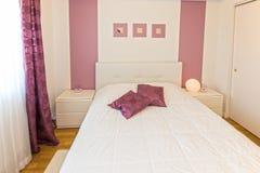 Dormitorio principal Fotos de archivo