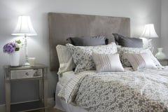 Dormitorio principal Imagen de archivo libre de regalías