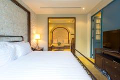 Dormitorio principal Foto de archivo libre de regalías