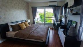 Dormitorio principal Fotografía de archivo libre de regalías