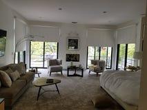 Dormitorio principal Beverly Hills fotos de archivo libres de regalías