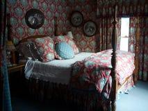 Dormitorio romántico imagenes de archivo