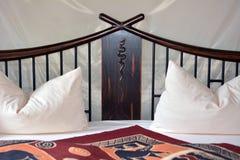 Dormitorio romántico foto de archivo libre de regalías