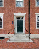 Dormitorios de la universidad de Harvard Fotos de archivo