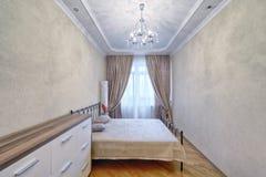 Dormitorios del diseño interior foto de archivo libre de regalías