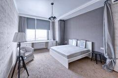 Dormitorios del diseño interior fotos de archivo libres de regalías