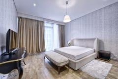 Dormitorios del diseño interior imagenes de archivo