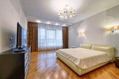 Dormitorios del diseño interior imágenes de archivo libres de regalías