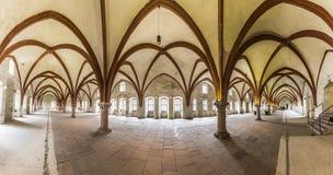 Dormitorium i abbotskloster Fotografering för Bildbyråer