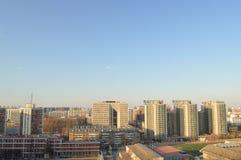 Dormitory. Graduate student dormitory in Beijing, China, Beijing, China University of Mining Stock Photo