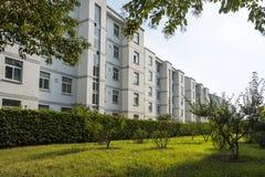 Dormitory building royalty free stock photo