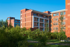 The dormitory building Stock Photos