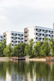 Dormitory building Royalty Free Stock Photography