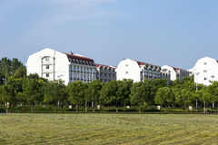 Dormitory building stock photography