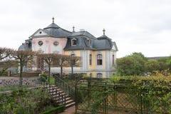 Dornburg-Schloss nahe Jena Stockfotos
