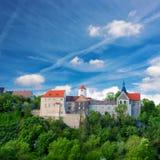 Dornburgkasteel in Thuringia, Duitsland Stock Afbeelding