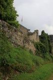 Dorneck城堡是在Dornach的自治市的一座城堡 库存图片