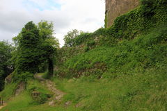 Dorneck城堡是在Dornach的自治市的一座城堡 库存照片
