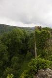 Dorneck城堡是在Dornach的自治市的一座城堡 图库摄影
