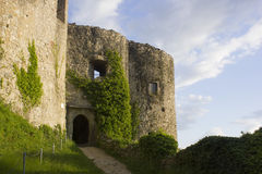 Dorneck Castle is a castle in the municipality of Dornach Royalty Free Stock Images