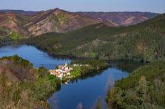 Dornes-Landschaft Stockfoto