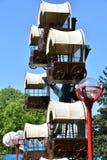 Dorney-Park in Allentown, Pennsylvania Stockbilder