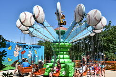 Dorney-Park in Allentown, Pennsylvania Stockfotos