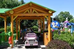 Dorney Park in Allentown, Pennsylvania Stock Photo
