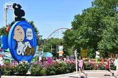 Dorney Park in Allentown, Pennsylvania Stock Photography